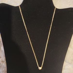 NWOT Small Heart Pendant Necklace